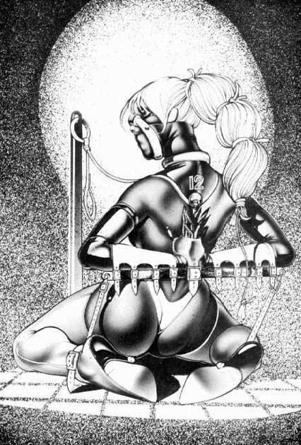 Bishop bondage cartoon